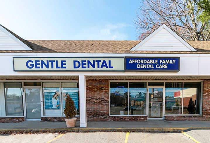 Gentle Dental Stoughton Outside