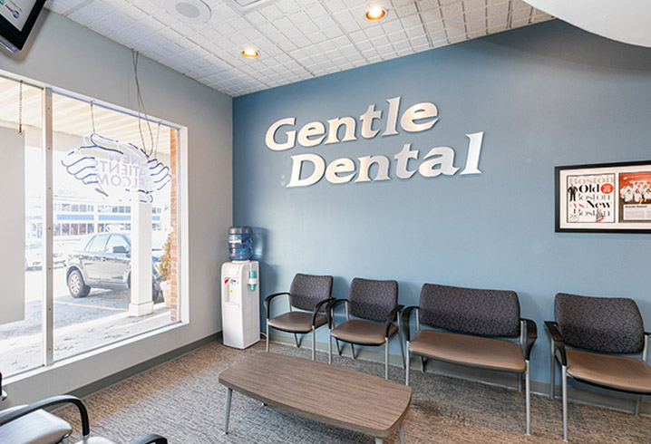 Gentle Dental Stoughton Waiting Area
