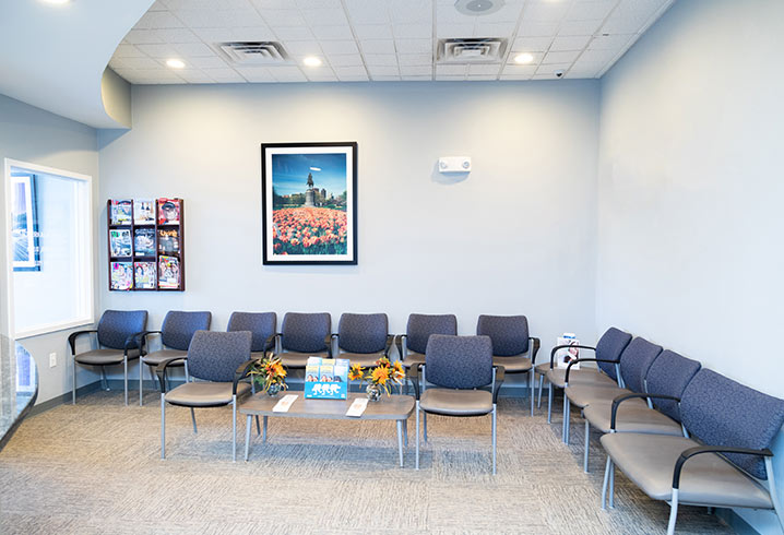 Gentle Dental methuen Waiting Area