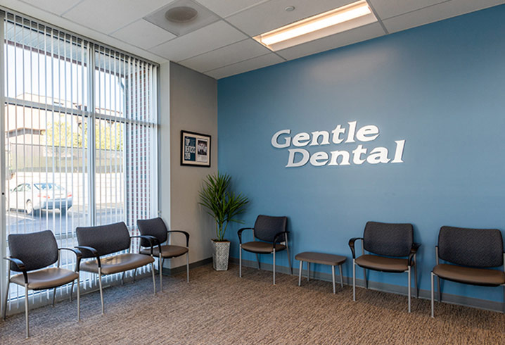 Gentle Dental Office Waiting Area