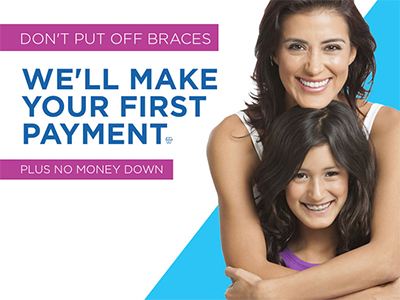 First Payment Free Braces